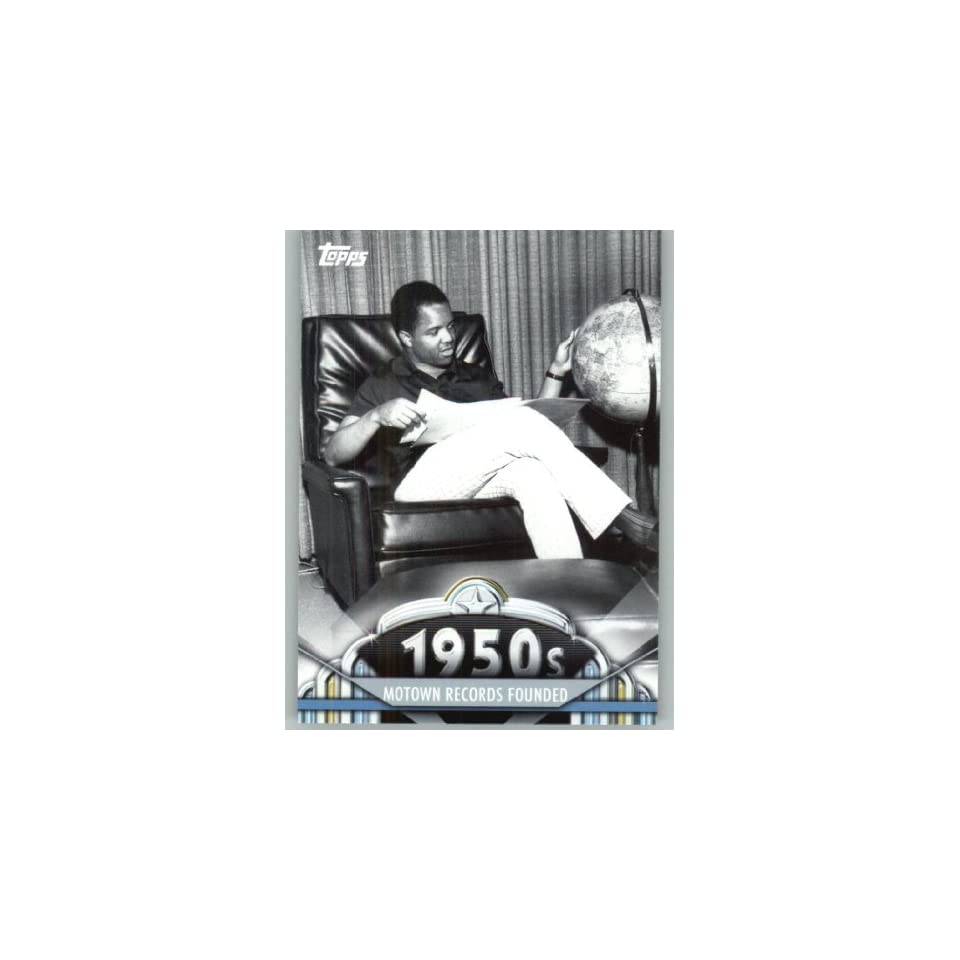 2011 American Pie #68 Motown Records Founded   A Celebration of American Pop Culture   Trading Card in a Screwdown Case