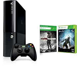 Xbox 360 - 250 GB + Tomb Raider (DLC) + Halo 4 (Xbox One Design )