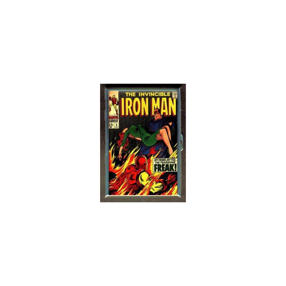 IRON MAN #3 1968 COMIC BOOK ID CIGARETTE CASE WALLET