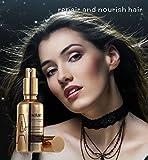 Moroccan Argan Oil 50ml/1.76fl.oz. NHFShop. Magnificent, Natural Hair Treatment Oil. Contains Vitamin B3, Keratin and Minerals. Pure Repair Liquid. Penetrating Treatment Oil for Dry and Damaged Hair.
