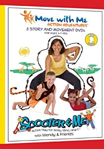 Kids Yoga DVDs - Scooter & Me Mind Series (Set of 3) for Focus, Self-Awareness & Self-Control
