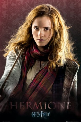 Harry Potter and the Deathly Hallows Part I Movie Hermione Poster Print - 22x34