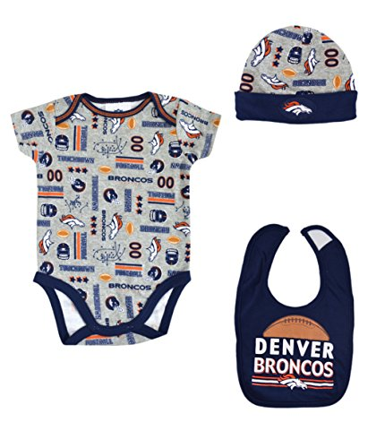 Denver Broncos Baby esie Price pare