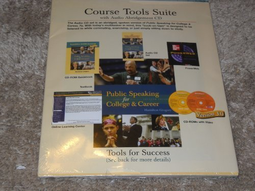 Course Tools Suite to accompany Public Speaking for College and Career