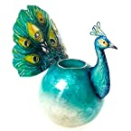Peacock Ball Tealight Holder