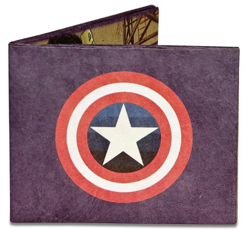 Dynomighty Men's Captain America Mighty Wallet