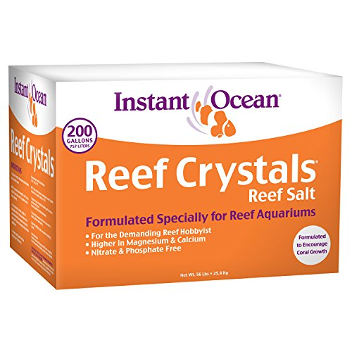 Instant Ocean Reef Crystal Sea Salt Marine Mix, 200-Gallon