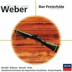 """Weber: Der Freisch�tz / Act 3 - """"Was gleicht wohl auf Erden dem J�gervergn�gen?"""""""