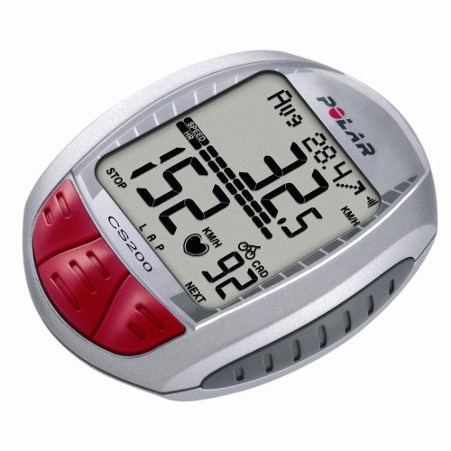 Polar CS200cad Cycling Computer Heart Rate Monitor with Cadence