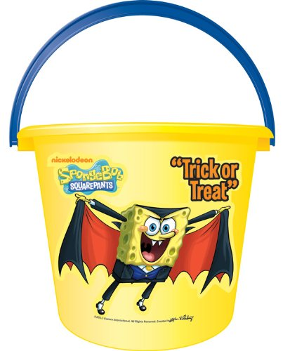 Spongebob Squarepants Sand or Trick-or-Treat Pail