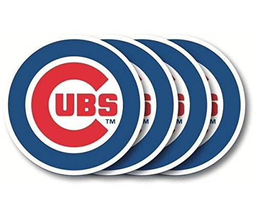 Duck House Chicago Cubs Coaster Set - 4 Pack (Duck Houses compare prices)