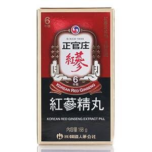 Cheong Kwanjang By Korea Ginseng Corporation Korean Red Ginseng Extract Pill 168g