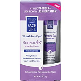 Face Lift WrinkleFree Eyes Retinol 4x