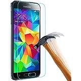 PLT24 9H Hartglas / Panzerglas für Samsung Galaxy S5 / Displayschutzglas / Tempered Glass / Panzer Glas Display Schutz Folie / Schutzglas / Echte Glas / Verbundenglas / Glasfolie