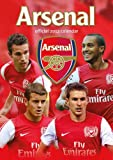 Official Arsenal Fc A3 Calendar 2012