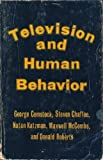 img - for Television And Human Behavior book / textbook / text book