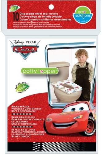 Neat SolutionsDisney Cars Potty Topper, 10-Count (Discontinued by Manufacturer) - 1