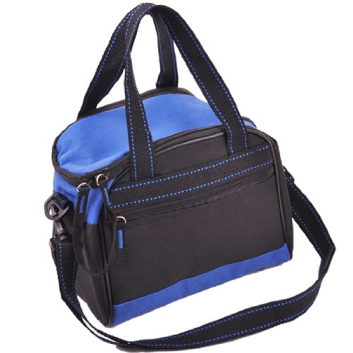 Unisex New York Cedar Street Patent Margot Top Handle Bag, One Size,Blue