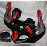 Snowboard bindings Board Factory 2013 Adult Snowboard Bindings 7-12 sizes NEW by board factory