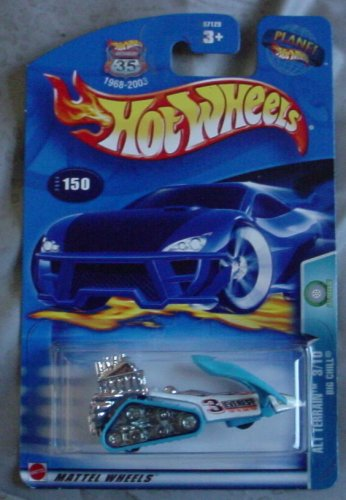 Hot Wheels 2003 Alt Terrain Big Chill 2/10 BLUE #150 - 1