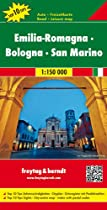 Emilia- Romagna- Bologna - San Marino 1 : 150 000 (Italy Regional Map) (English, French, Italian and German Edition)