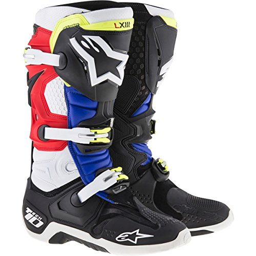 Alpinestars-Tech-10-Barcia-Vented-Mens-Off-Road-Motorcycle-Boots-BlackRedBlue