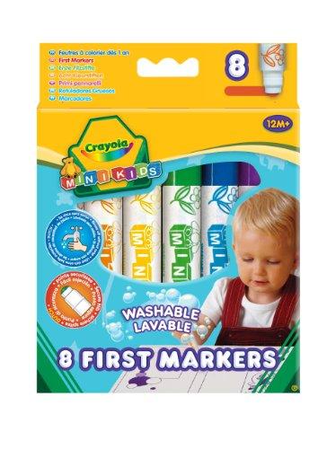 Crayola Beginnings Marker, 8 Stück von Crayola
