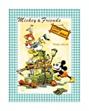 FUJICOLOR album free Disney character EF-10B (BK) Mickey Mouse [Black mount] 11-20 page character Blue 22407 (japan import)