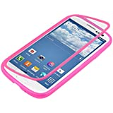 kwmobile TPU Silikon Hülle für Samsung Galaxy S3 S3 Neo - Full Body Protector Cover Komplett Schutzhülle Case in Pink Transparent