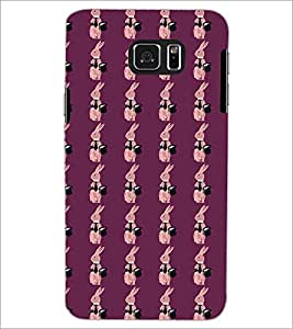 SAMSUNG GALAXY NOTE 5 RABBIT PATTERN Designer Back Cover Case By PRINTSWAG