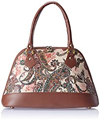 Alessia74 Women's Handbag (Tan) (SU001B)