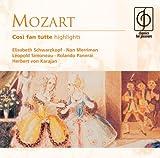 Wolfgang Amadeus Mozart Cosi Fan Tutte (Karajan, Philharmonia Orch.)