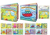 Baby Bath Book Suitable For Age 6 Months Set Of 2