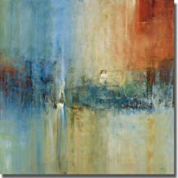 Blue Cascade by Simon Addyman Premium Stretched Canvas (Ready to Hang)