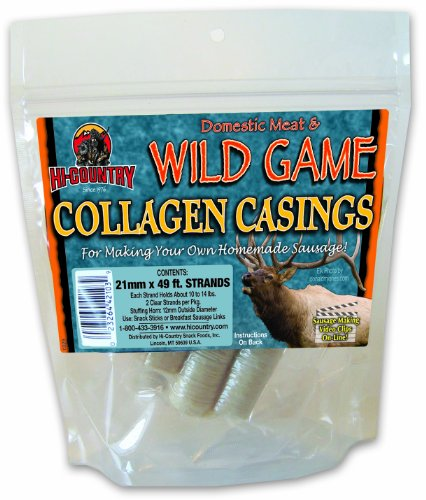 Hi-Country Snack Foods Domestic Meat and WILD GAME Curing Salt - 18g Cure Packs - 24 Ct.