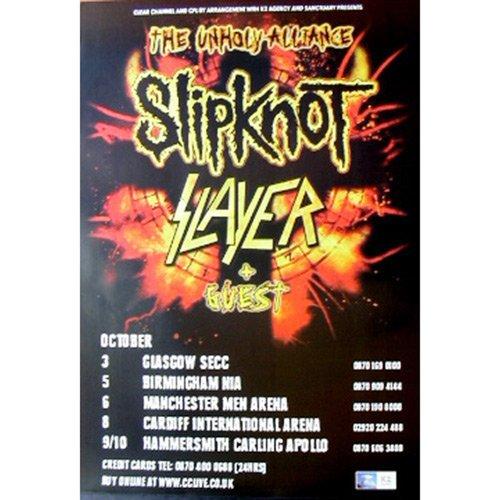 Slayer - Poster Unholy Alliance