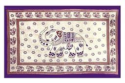 Sunshine Joy Indian Elephant Tapestry - 60x90 - Beach Sheet - Hanging Wall Art