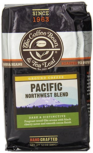 The Coffee Bean & Tea Leaf Ground Coffee, Pacific Northwest Blend, 12 Ounce