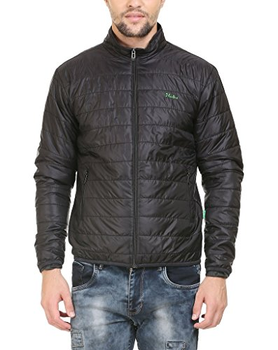 Plutus BMB001-BLK-XL Nylon Full Sleeve Quilted Jacket