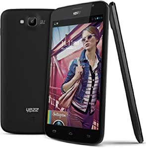Yezz Andy A6M Pack de Smartphone Dual SIM USB Android 4.2.1 Jelly Bean 1,2 Go Noir + 2 Coques
