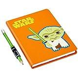 Hallmark Star Wars Journal & Pencil & Grip Set (Yoda)