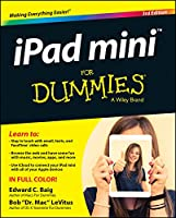 iPad mini For Dummies, 3rd Edition Front Cover