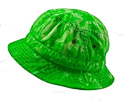 Colortone Bucket Hats Adult Spider Lime