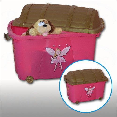 Girls' Princess Pink Toy Storage Box Nursery Toy Storage Box For Little Princesses