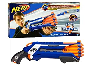Nerf - A1691E240 - Jeu de Plein Air - Nerf Elite - Rough Cut