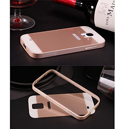 Pioneer Tech® Aviation Aluminum Alloy Bumpe Smooth Slim Case Cover For Samsung Galaxy S4 - Xnr (Champagne Gold)
