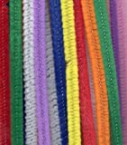 SODIAL(TM) 100pk Multi Coloured Pipe Cleaners