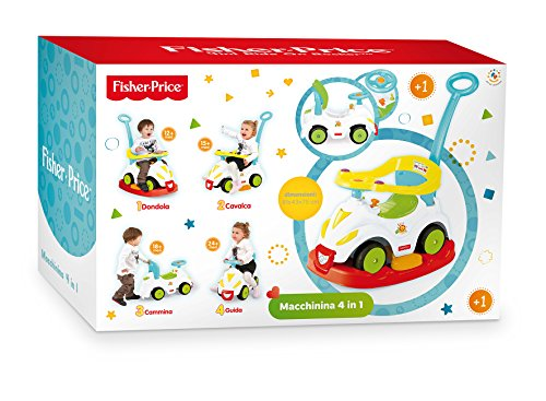 Grandi Giochi GG01812 - Fisher Price 4 in 1 Ride On