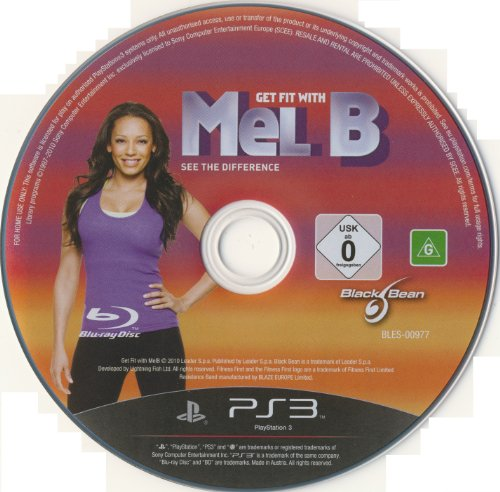 {Disk ONLY} Get Fit with MEL B (PS3) [UK Import] Playstation.Move version enhanced with PlayStation Eye
