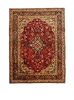 QURAMA Alfombra Persian Tabriz Rojo/Multicolor 300 x 194 cm